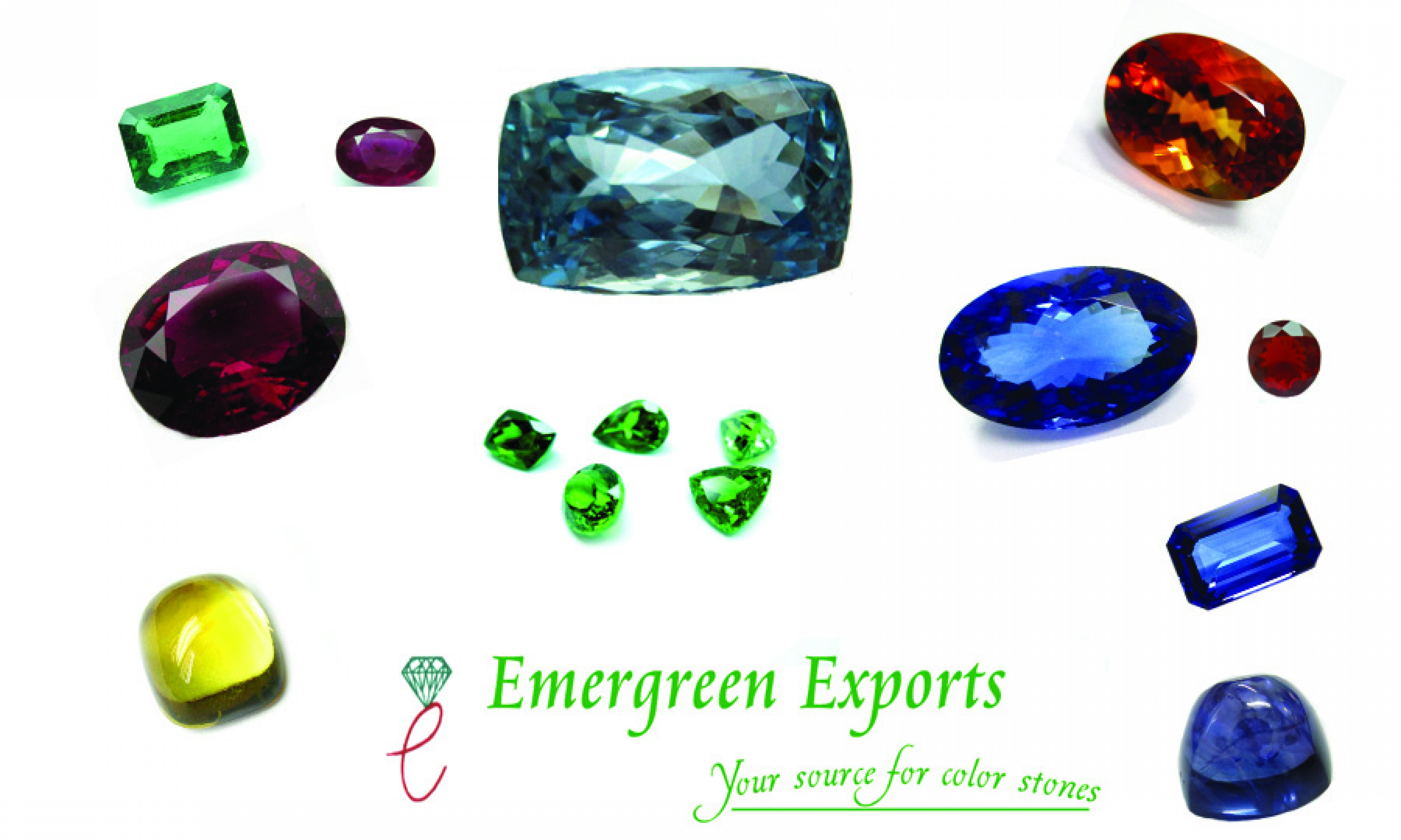 Emergreen Exports Multiple Stones in One Picture 2nd photo