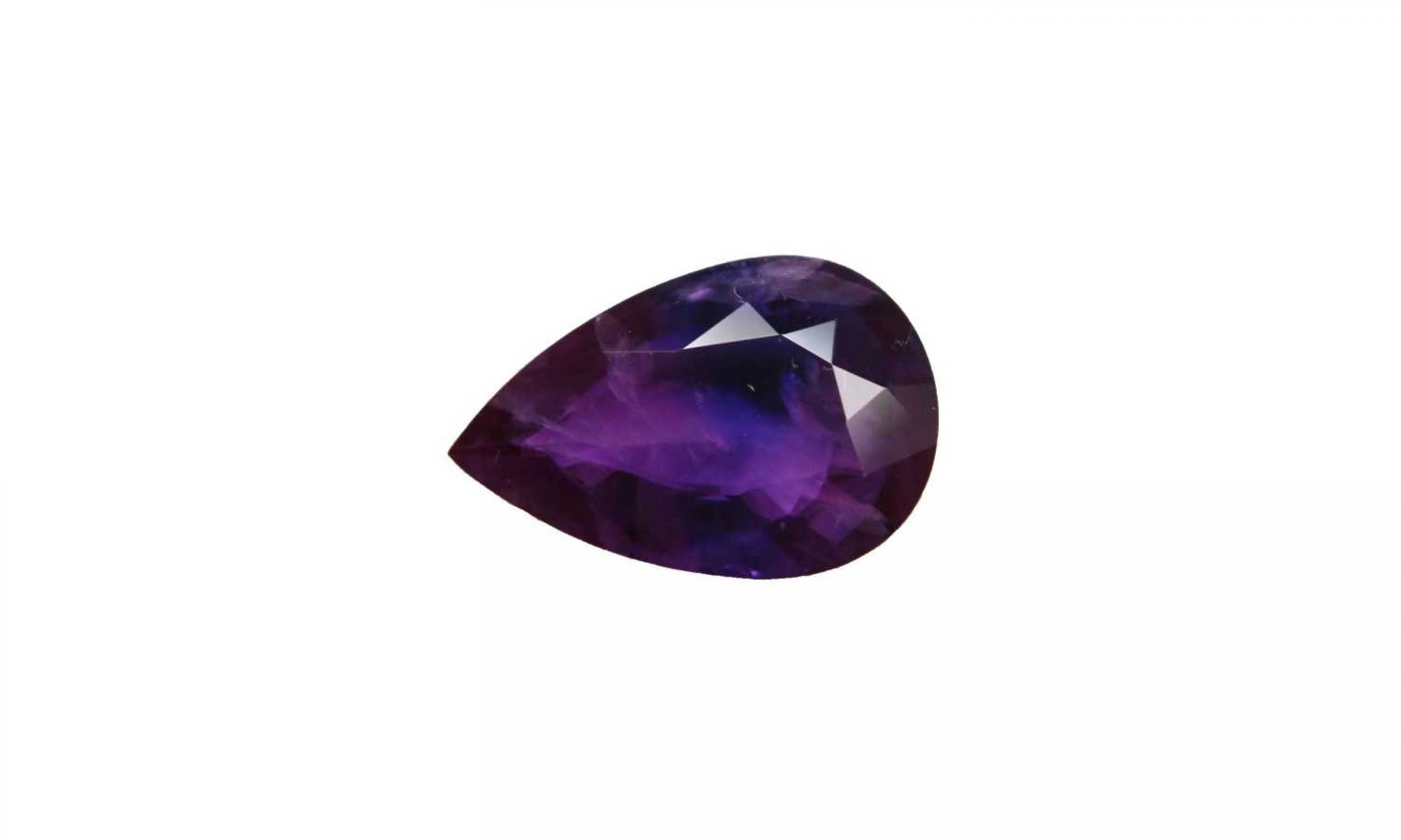 Inclusions are beautiful purple sapphire 1